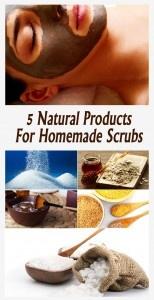 Homemade Facial Masks: 5 Natural Products For Homemade Scrubs