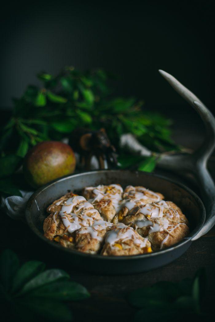 Mango Coconut Scones {Vegan}   Adventures in Cooking