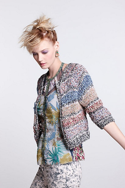 handknit cardigan // beguile by byron lars
