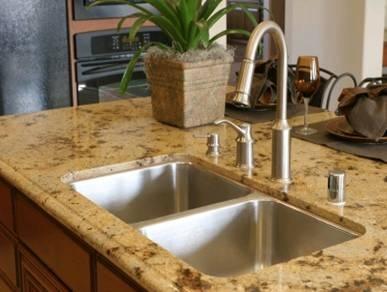 quartz composite countertop kitchen Pinterest