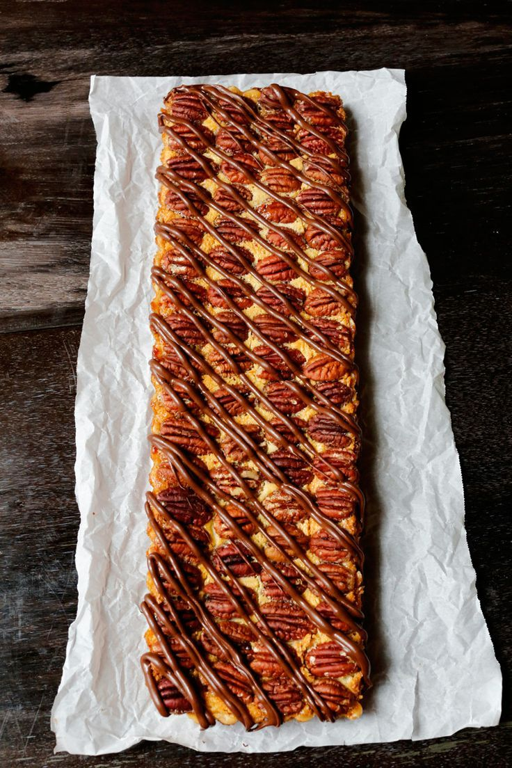 Pecan Pie Tart with Praline Cream. | Pies and Cheesecakes | Pinterest