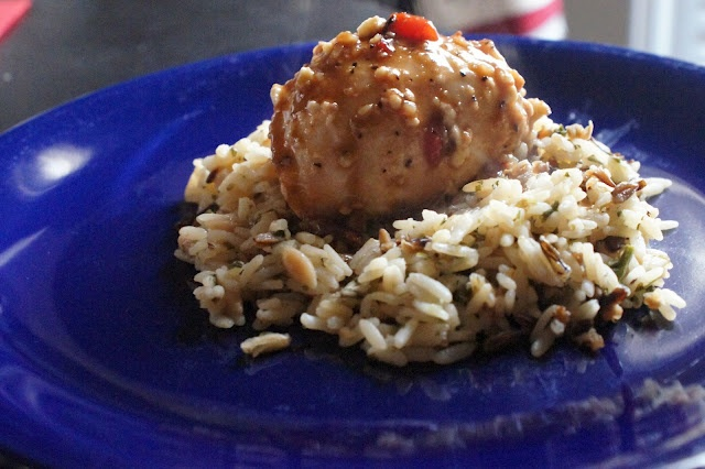 Roasted Red Pepper Stuffed Chicken | One Hungry Hog | Pinterest