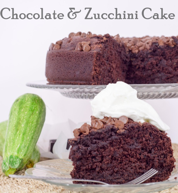 Chocolate Zucchini Cake!!! A healthy chocolate cake for the next time ...