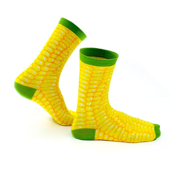 These are totally corney... but I like them!  Corn Socks!
