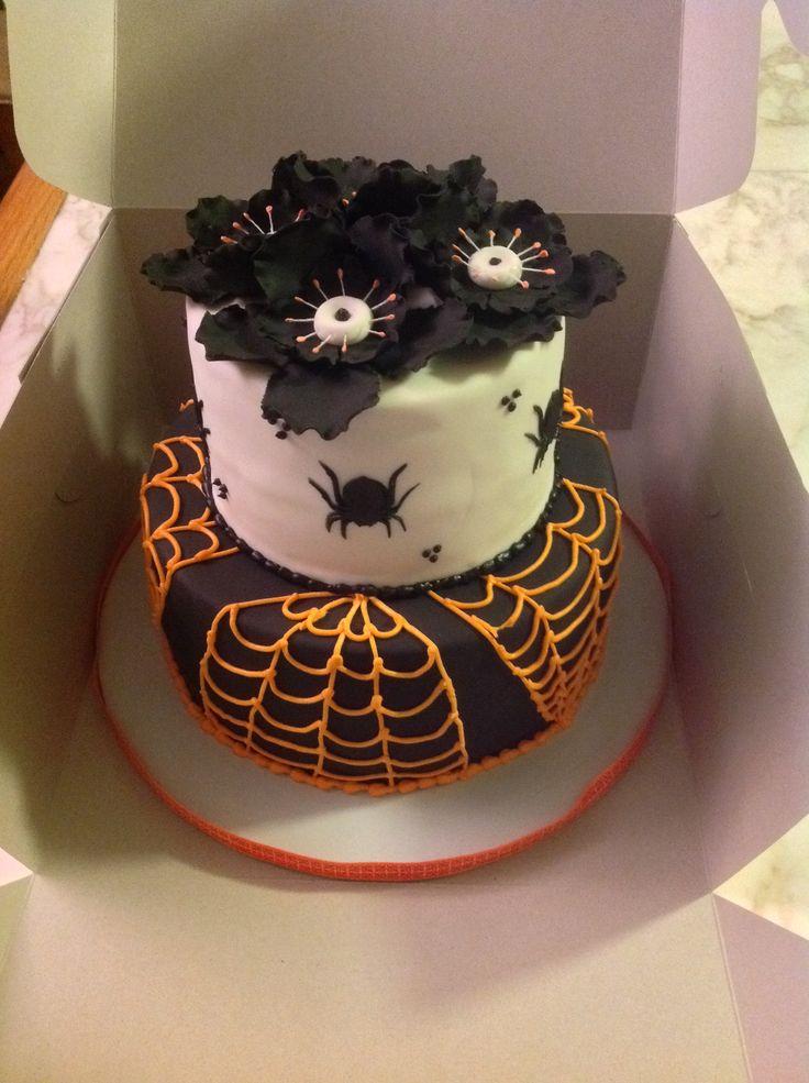 elegant halloween wedding cakes