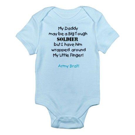 Army Brat Infant Bodysuit on
