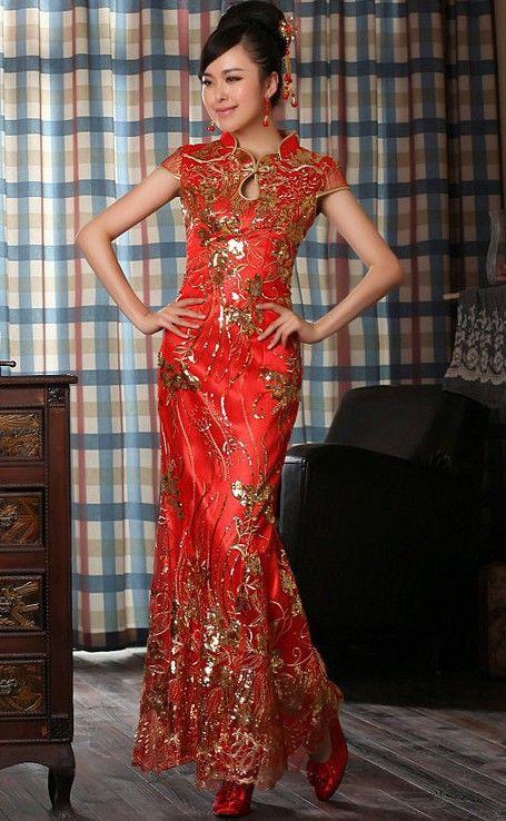 Chinese Qipao - Cheongsam Wedding Dress