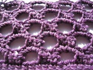 Crochet Stitch Honeycomb : Honeycomb Stitch free crochet pattern Craft and Sew Pinterest