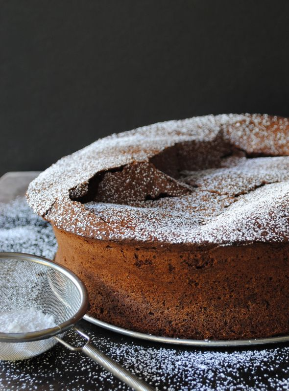 Flourless Chocolate Cake. Hey @Stephanie Birkeland , I bet you could ...