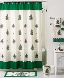 Single Stall Shower Curtain Blue Snowman Shower Curtain
