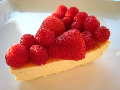 Greek Yogurt Cheesecake With Pomegranate Sauce Recipes — Dishmaps