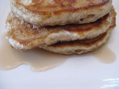 Whole Grain Apple Oatmeal Pancakes. Change oil to unsweetened ...