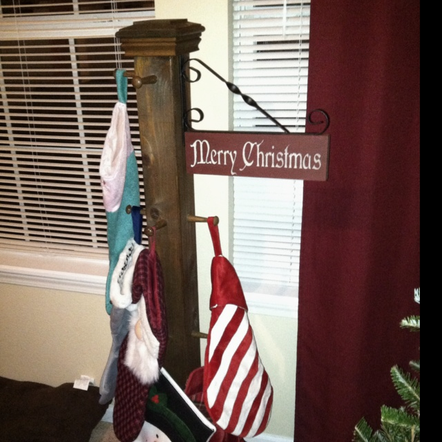 Christmas stocking stand holder floor myideasbedroom com