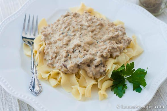 turkey stroganoff! I made this tonight and my family LOVED it. I used ...