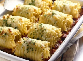 Chicken and cheese lasagna roll ups! but where's the recipe??