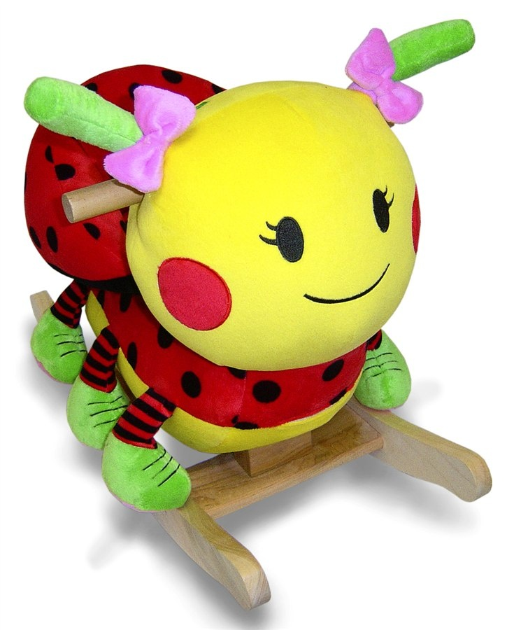 Lulu Ladybug Chair Rocker  kids  Pinterest