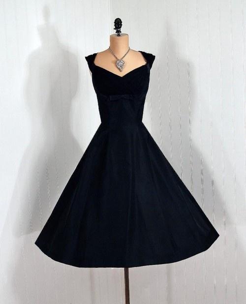 classic little black dress - photo #14