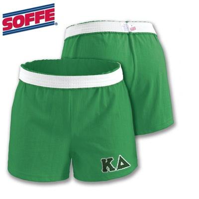 Kappa Delta Sorority Soffee Junior Shorts with Twill $20.95