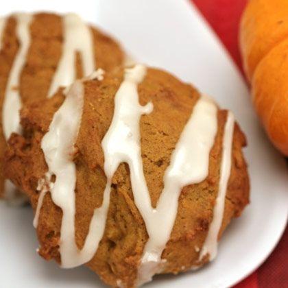 Iced Pumpkin Cookies   Food/Drink   Pinterest