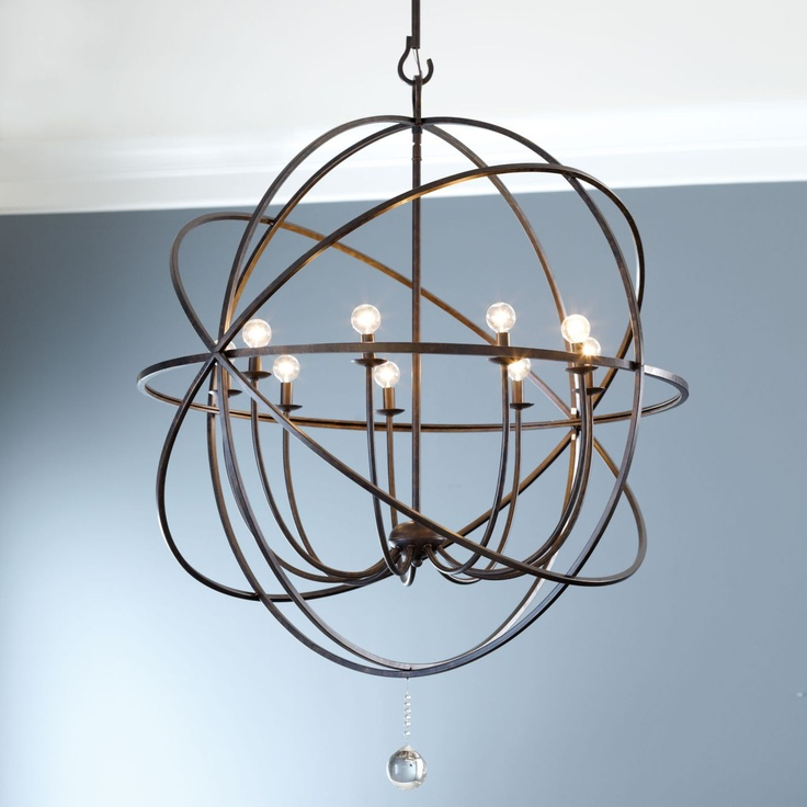 Large Foyer Orb Chandelier : Pin by kristen gibson on for the home pinterest