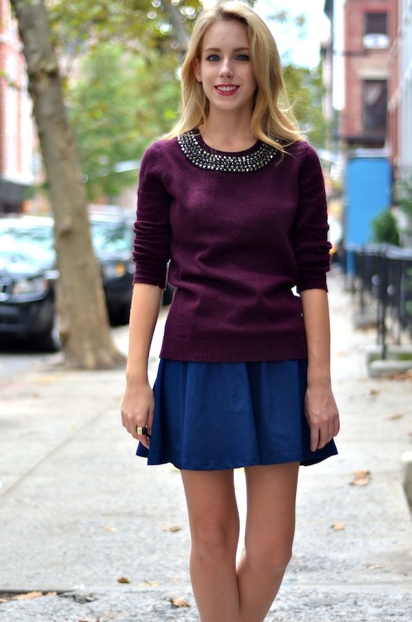 Katie's Bliss: Embellished Collar