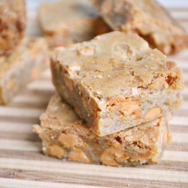 Butterscotch Blondies | Good Eats | Pinterest
