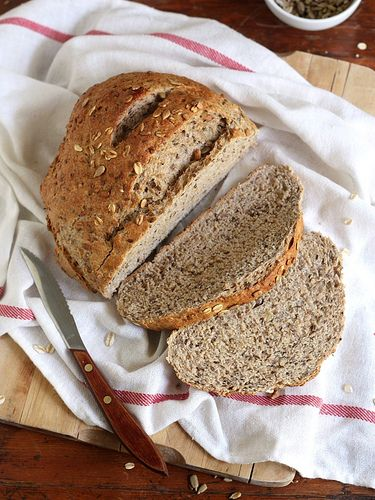 Multigrain Bread #recipe | EAT | Pinterest