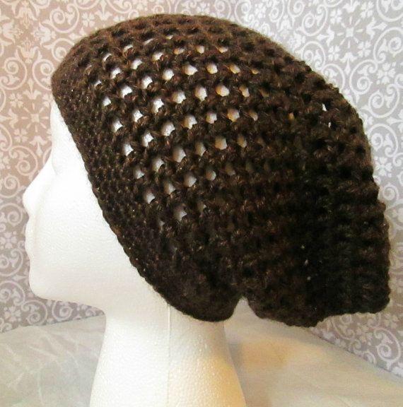 Crochet Stitch Open : Open Stitch Crochet Slouch Hat - $20