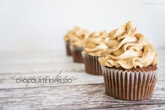 Chocolate Espresso Cupcakes, cupcake, recipe, baking, daily, blog ...