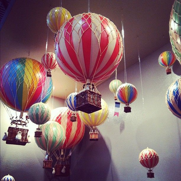 Mini hot air balloons diy on the wall pinterest for How to make a small air balloon