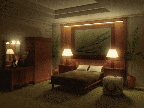 Living Room By Julian Faylona Creepy Animated GIFs Pinterest