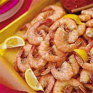 Steamed Shrimp | good food | Pinterest