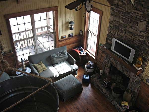 Small Cabin Interior Small Cabins Pinterest