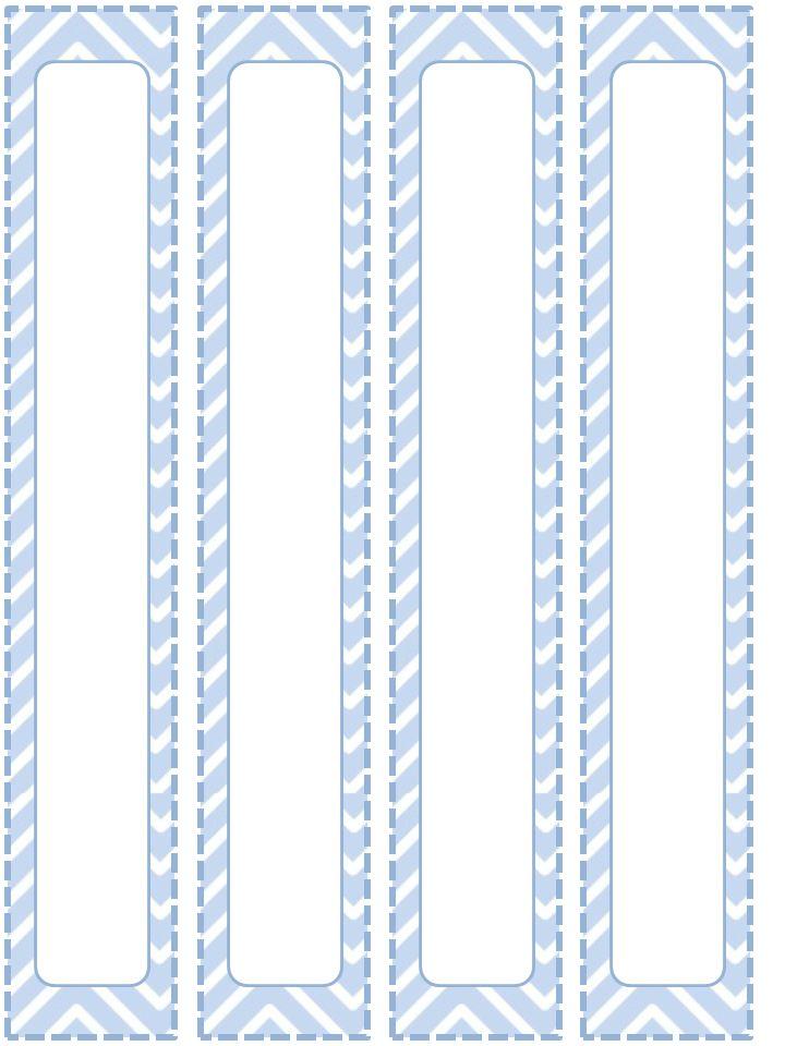 1 in binder spine template