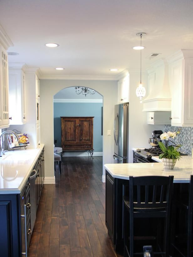 white kitchen with farmhouse sink gray subway tile backsplash