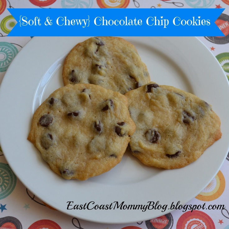 Soft and Chewy Chocolate Chip Cookies (great for baking with kids)
