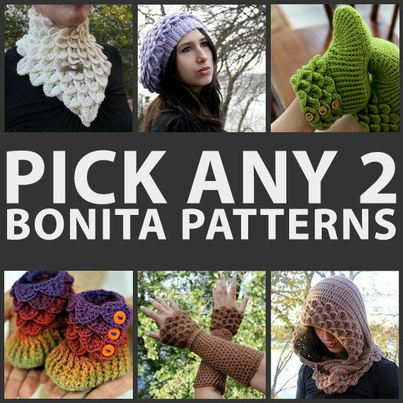 Crochet Patterns To Sell : Crochet PATTERN Pick Any 2 Crochet Patterns - Permission to Sell Fini ...