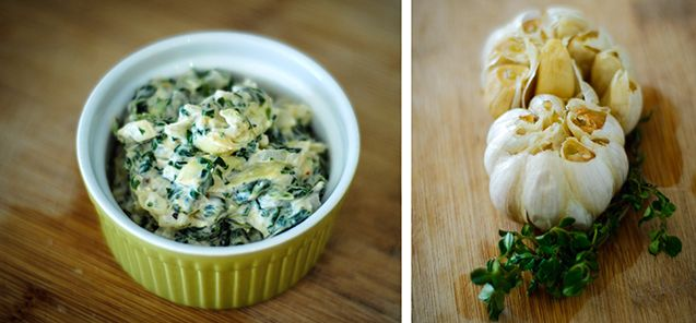 Healthy Spinach and Artichoke Dip | Foodie File | Pinterest