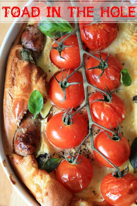 toad in the hole 3 | healthy eats! | Pinterest