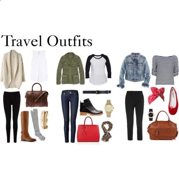 Travel Outfits by diamte on Polyvore | Clothes I NEED! -) | Pinterest