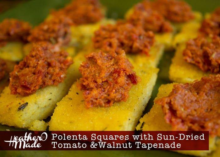 ... tomato and crab bites sundried tomato polenta bites recipes dishmaps