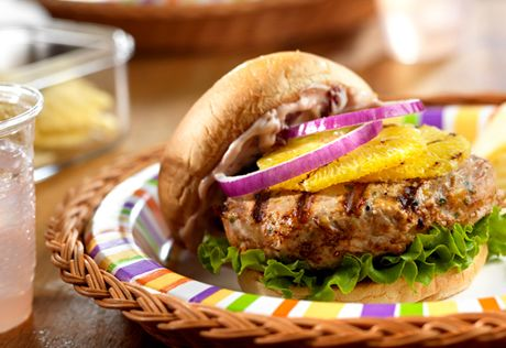 No more bland burgers...these easy to make turkey burgers use ...