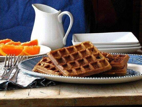 brown sugar cinnamon waffles by the daily meal. i love brown sugar and ...