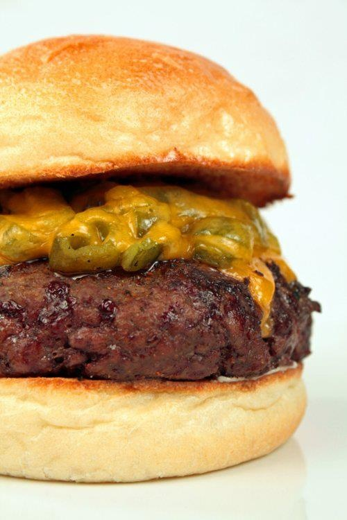 Green chile cheeseburger | I Left My Heart In New Mexico | Pinterest