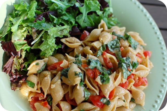 Pasta with Tomato, Basil, & Brie | Recipes | Pinterest
