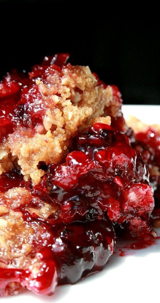 Blackberry Crumble. | Delicious! | Pinterest