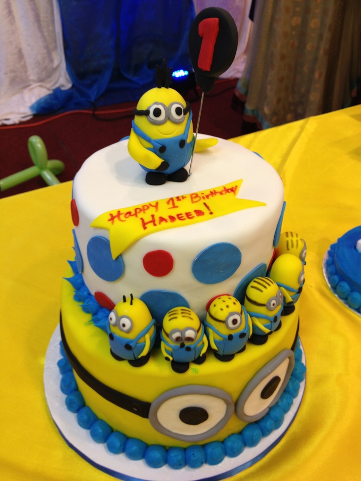 Birthday Cake Images Minions : My cousin s Minion birthday cake! VALENTINE S ...