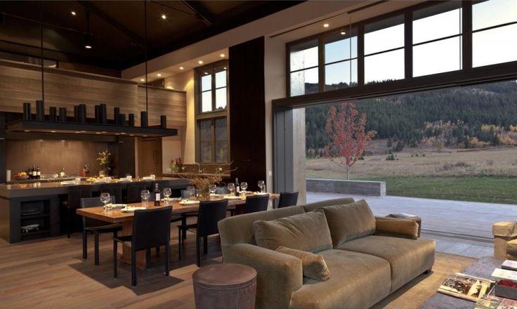 decoracion de interiores rustica moderna : decoracion de interiores rustica moderna:Architecture Sun Valley Idaho