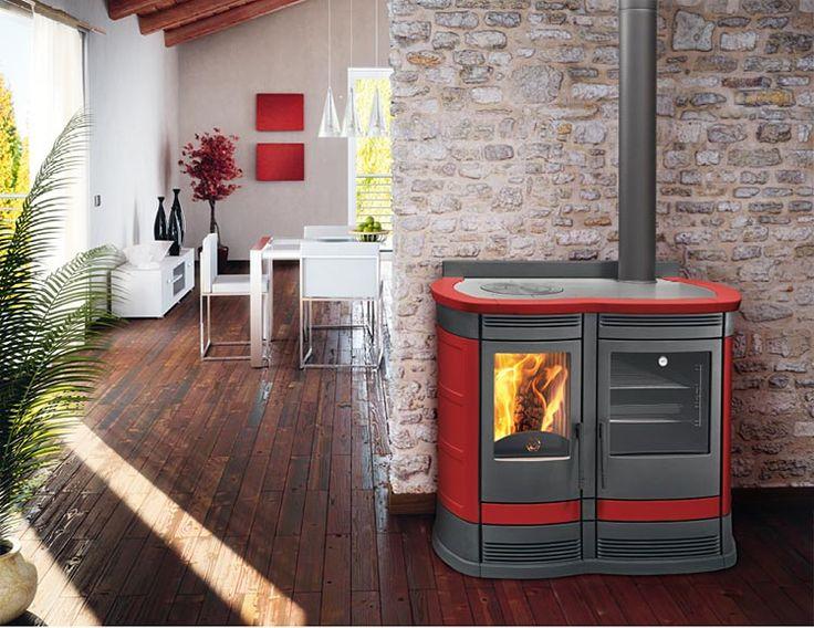 wood cook stove by vescovi italy wood cook stoves pinterest. Black Bedroom Furniture Sets. Home Design Ideas