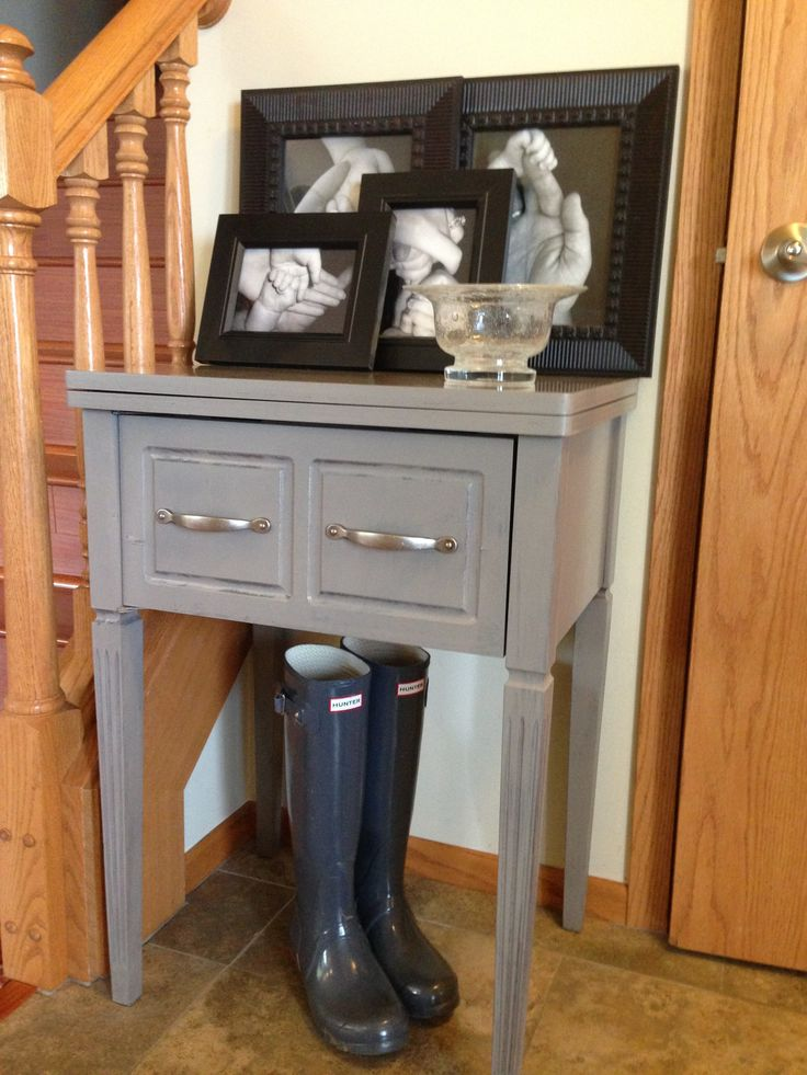 diy sewing machine cabinet